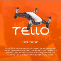 RC Drone Quadcopter DJI Panthom TELLO 2.4 Ghz Camera 5MP 720p