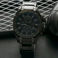 Jam Tangan Alexandre Christie Ac 6225 Full Black Original