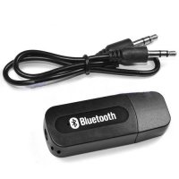 [globalbuy] Portable Black USB Bluetooth Audio Music Receiver/3779688