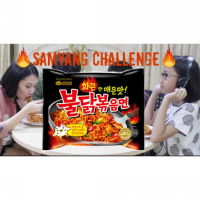 SAMYANG HOT CHICKEN RAMEN SPICY (MIE RAMEN AYAM PEDAS)