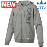 Adidas zip-up hooded / house specials Trough graphic zip-up hoody jacket Gang / QW-G68825 / hooded zip-up ads