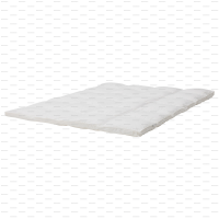 Size Single TOPPER BED MATTRESS MATRAS Top Pad Protector Cover Pelindung Spring Bed Ranjang Kasur