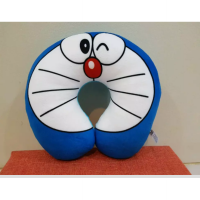 Bantal Leher Doraemon Muka Face