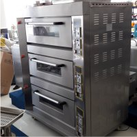 Gas Deck Oven 3 Deck 6 Trays ARF-60H Hitech Full Stainless Steel