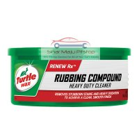 Turtle Wax Renew Rx Rubbing Compound - Heavy Duty Cleaner Paste 298 Gr Original Made In USA