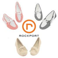 [Rockport Women's flat shoes / sandals Plus Size / mocha / boat shoes 4 kinds! The technology of Adidas comfort and style at the same time!