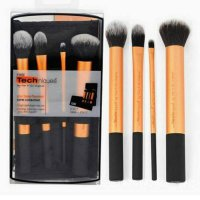 Brush Real Techniques Yellow 4PC/ kuas sams picks mac naked huda