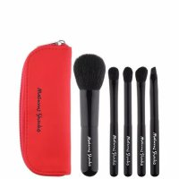 Masami shouko travel brush set red 5pc kuas makeup make up brush chic