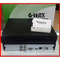 DVR CCTV DVR Glenz 4 Channel 720p 3 in 1 Support ahd analog ip
