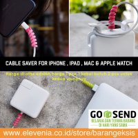 Cable Protector Spiral / Pelindung Kabel / Lightning Saver iPhone Mac