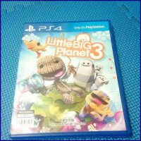 bd ps4 kaset game LITTLE BIG PLANET 3