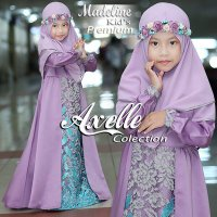 MADELINE SET GAMIS SYAR'I ANAK BY AXELLE