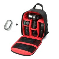 1PC Camera Bag Backpack Waterproof DSLR Case with Carabiner for Canon