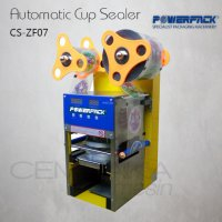 Mesin Penyegel Gelas Plastik | Automatic Cup Sealer Powerpack CS-ZF07