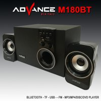 Speaker Advance Aktif Portable M180BT Bluetooth Subwoofer BASS