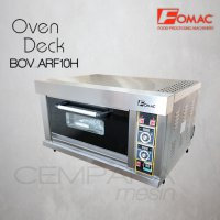 Gas Baking Oven Fomac BOV-ARF10H | Oven Roti Bakery 1 Deck 1 Tray