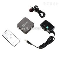 [globalbuy] New 3 Port Digital Optical Audio Switch with IR Remote Control (SPDIF / Toslin/4982323
