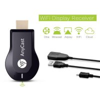 Anycast M2 DLNA Airplay Tampilan Wifi Miracast TV Dongle HDMI Multi Pameran Mini Receiver AirMirror Android TV Tetap