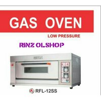 GAS BAKING OVEN GETRA RFL-12SS 1DECK 2LOYANG/ OVEN ROTI