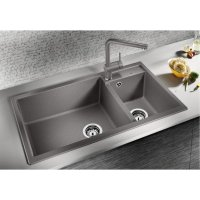 BLANCO METRA 9 Granite composite sink in SILGRANIT PuraDur