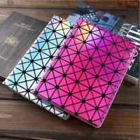 [globalbuy] case for ipad mini 1 2 3 Colorful Bling Laser Diamond Flip Stand Leather Smart/4931413