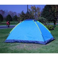 Tenda Dome 2 Person Double Layer Door Camping Tent - Bl