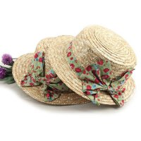 Rose Garden outing necessities sseonkaep rush sedge hat hat hat ribbon rush straw hat beach hat fashion hats