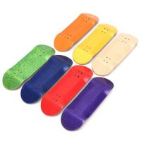 [globalbuy] Basic Wooden Fingerboard Professional Finger SkateBoard Wood Fingerboars With /3149994