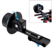 [globalbuy] Aluminum alloy Blue Quick Release Clamp Follow Focus + Camera Gear Ring for Ca/1814483