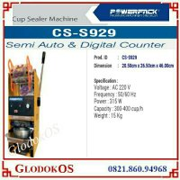 Mesin Penyegel Gelas Plastik Cup Sealer CS S929 - Small Cup