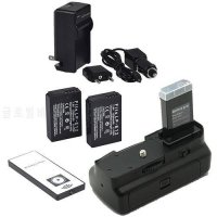 [globalbuy] Battery Grip For Canon EOS 100D Rebel SL1 Camera + white IR Remote Control + 2/5382540