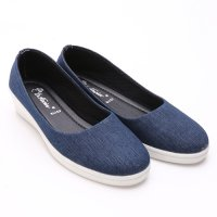 Dr.Kevin Women Wedges Shoes 43110 Blue