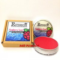 POMADE RITJHSON ICE RASPBERRY MEDIUM HOLD OILBASED OIL BASED 3.5 OZ + FREE SISIR SAKU