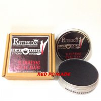 POMADE RITJHSON BLACK COFFEE KOPI STRONG HOLD OILBASED OIL BASED 3.5 OZ + FREE SISIR SAKU