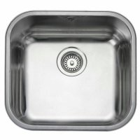 Kitchen Sink BLANCO SUPRA 450-U + Keran BLANCO MIDA HD