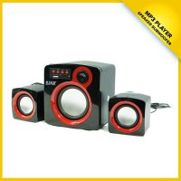 Speaker 2.1 Subwoofer M-TECH SB-02 Support USB and TF Port Direct Play Music
