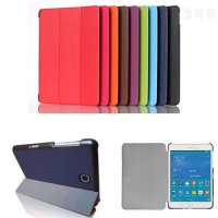 [globalbuy] CY Magnet Luxury Stand pu Leather Case Cover For Samsung Galaxy Tab A 8.0 T350/4931566