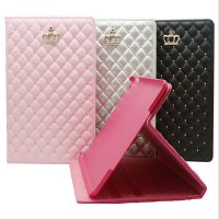 NEW CASING FLIPCOVER FOR IPAD MINI / MINI 2 / MINI 3 FLIPCASE CROWN