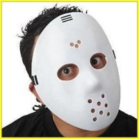 SCARY MASK TOPENG HALLOWEEN JASON PUTIH WHITE MASK COSPLAY PARTY