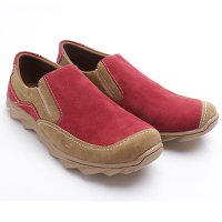 Dr.Kevin Mens Casual Shoes 13267 Red/Camel