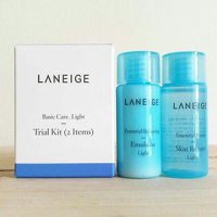Laneige Basic Care LIGHT Skin Refiner Emulsion Trial Kit 2items