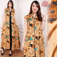 SB Collection Gamis Maxi Dress Vania Longdress Terusan Batik Wanita