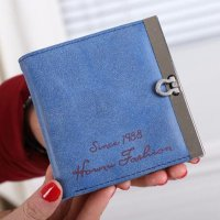 Lady Women Ultrathin Mini Purse Leather Wallet Credit Card Holder Bags Gift