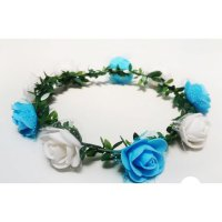 Flower Crown / Aksesoris Pesta Mahkota Bunga