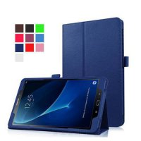 [globalbuy] 8 colours Litchi Bracket pouch pu leather cover case for samsung galaxy Tab A /5357556