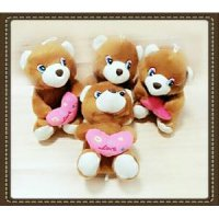 Boneka Lampu Bear Beruang LED Lamp Dolls Mainan Edukasi Anak Love You