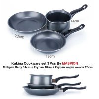 Kukina frypan milkpan Set 3 pcs MASPION