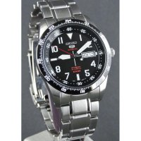 Seiko 5 Sports Mens SRP519K1 | Jam Tangan Pria SRP519 Silver Stainless Automatic