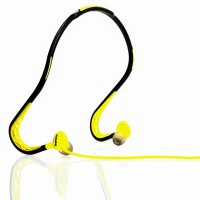 Remax Sports Wired Headset 3.5mm With Mic + Remote (S15) - Hijau