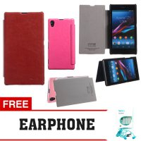 Flip Cover Sony Xperia Z1 Kalaideng Leather Case Enland Series FREE EARPHONE